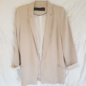 """Zara """"Boyfriend""""  Jacket.  Sz  L."""